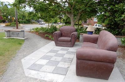 The stone living room, Ballard Corners Park, Seattle